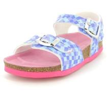 Mädchen Sandale Synthetik blau / pink