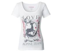 Shirt Yoko grau / weiß