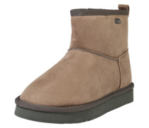Bootie 'Flat' taupe