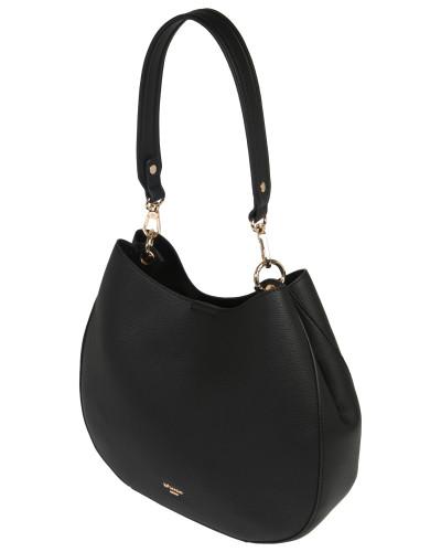 Handtasche 'demillie' gold / schwarz