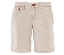 Shape Shorts: Twill-Bermuda beige
