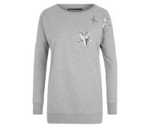 Sweatshirt 'ONLStella Amour' grau