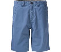 Chinoshorts für Jungen blau