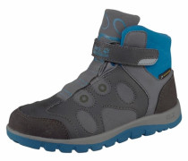 JACK WOLFSKIN Outdoorschuh »Providence Texapore Mid Velcro« grau