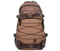 Backpack Three Color 'Louis' Rucksack 50 cm braun