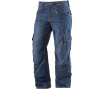Benito Loose Fit Jeans Herren blue denim