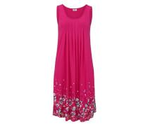 Strandkleid aqua / pastellgelb / pink / himbeer
