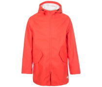 Rubber Fishtail Parka Mantel Herren rot
