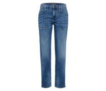 Regular Jeans 'cushy' blue denim
