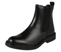 Chelsea-Boot mit Miniabsatz schwarz