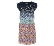 Sommerkleid mit Blumenprint mischfarben