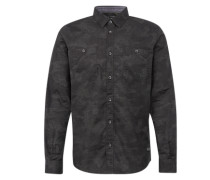 Hemd 'Ray structure print shirt'