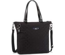 'City Luxestagious' Shopper Tasche 315 cm schwarz