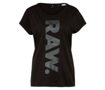 T-Shirt 'Danarius' schwarz