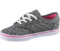 Sneaker 'Atwood Low' dunkelgrau / pink / weiß