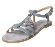 Sandaletten taubenblau