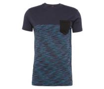 T-Shirt aus Baumwolle marine