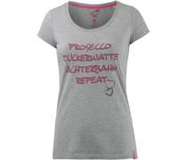 T-Shirt Damen hellgrau