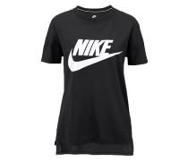 Signal TEE Logo T-Shirt schwarz