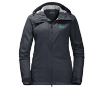 Softshelljacke 'gravity Flex Women' dunkelgrau