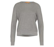 Pullover mit Seide 'Injkey' grau