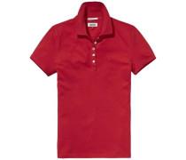 Poloshirt 'thdw Basic Polo S/S 11' rot