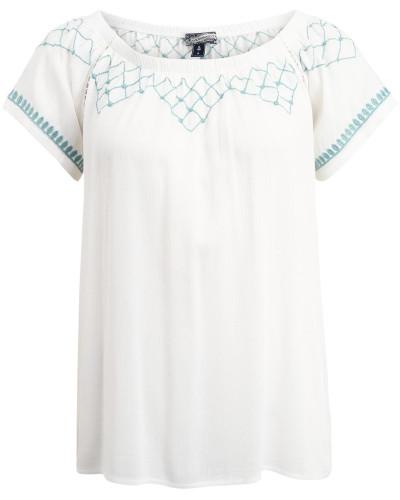 Shirt pastellblau / weiß