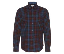 Hemd 'LS Mid Scale House Gingham Check' rot