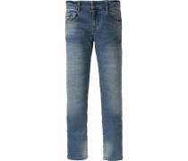 Jeans Regular fit für Jungen Bundweite Slim blau
