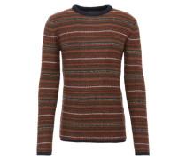 Pullover aus Woll-Mix 'Talen' braun