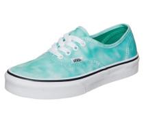 Authentic Tie Dye Sneaker Kinder türkis / grün / weiß