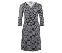Kleid mit geometrischem Muster dunkelblau / mischfarben