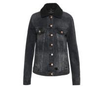 Jeans Jacke black denim