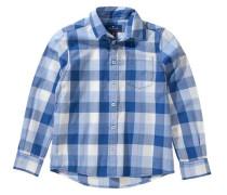 Hemd für Jungen blau