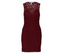 Kleid aus Spitze bordeaux