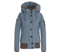 Female Jacket Shortcut III blau / braun