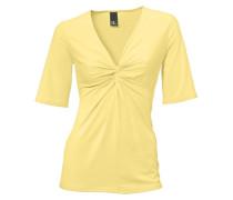 Knotenshirt gelb