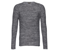 Pullover 'raglan Pretwist' blau