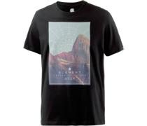 'sunset SS' T-Shirt Herren schwarz