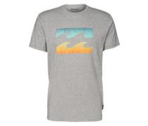 T-shirt 'team Wave TEE SS' graumeliert