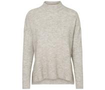 Langärmeliger Pullover grau