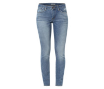 '712' Slimfit Denim blau