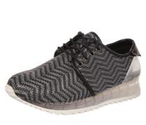 Sneaker 'Elvion' silbergrau / schwarz
