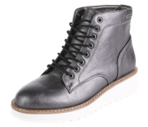 Boots mit Lack-Optik 'Ramsy' schwarz