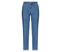 'Mia' Slimfit Jeans blue denim