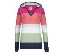 Streifenpullover mit Streifen im Colorblocking-Look mint / koralle