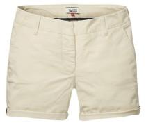 Klassische Chino Shorts beige