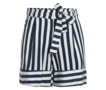 Streifen Shorts navy / weiß
