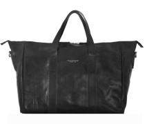 Sfoderata Luxe Donna Shopper Leder 455 cm schwarz