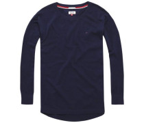 Pullover 'thdw Basic CN Sweater L/S 1' navy